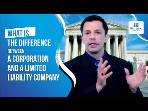 What is the difference between a Corporation (INC) and a Limited Liability Company (LLC)?