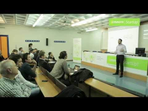 COSMOTE StartUp Evening Talks -  Luka Sučić και Filip Drimalka
