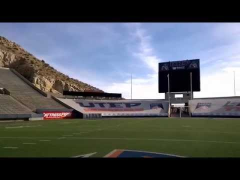 Sun Bowl Stadium - El Paso, Texas