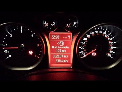 2009 Focus : Fix for NO indicators/outside temp/red frost/hazard/handbrake light