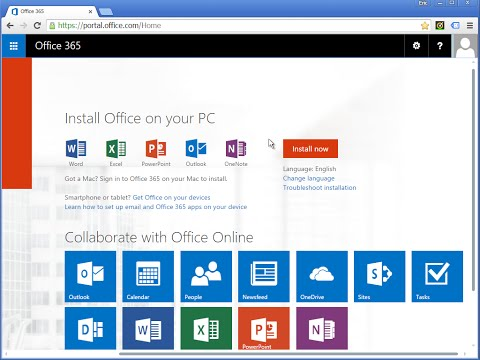 Accessing Office365 at Center for Advanced Legal Studies
