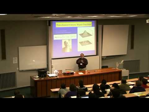 Sir Peter Knight -  Quantum Technology for a Networked World - QuICC Lecture 1