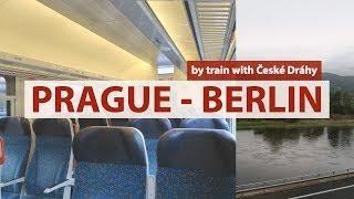 Prague to Berlin by train 🚄České Dráhy EC 174 Robert Schumann