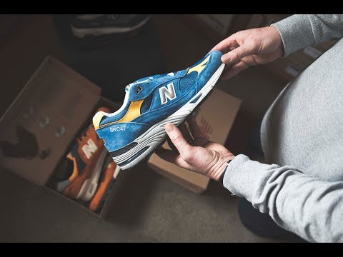 Sneaker Closets: Kevin Downie's insane New Balance collection.