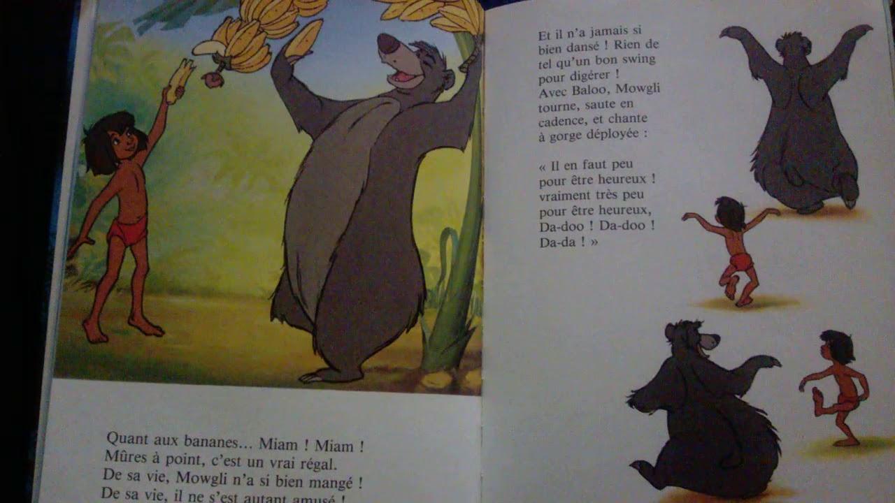 L Histoire Du Livre De La Jungle Disney Livre Audio