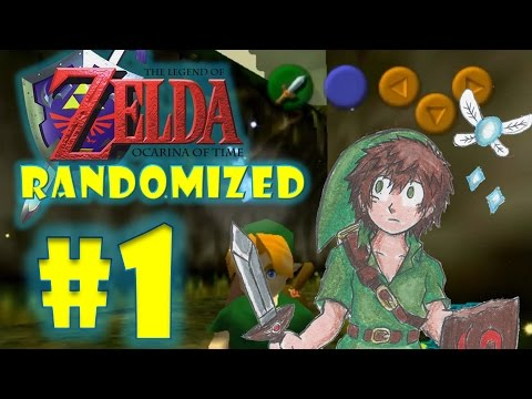 RANDOMIZED Ocarina of Time Part 1| WHAT IS HAPPENING?!