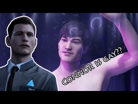 Connor Is Gay, Funny Moment - Detroit: Become Human