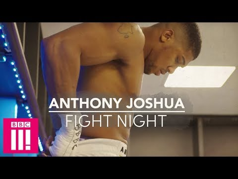 Anthony Joshua's Final Hours Of Fight Night