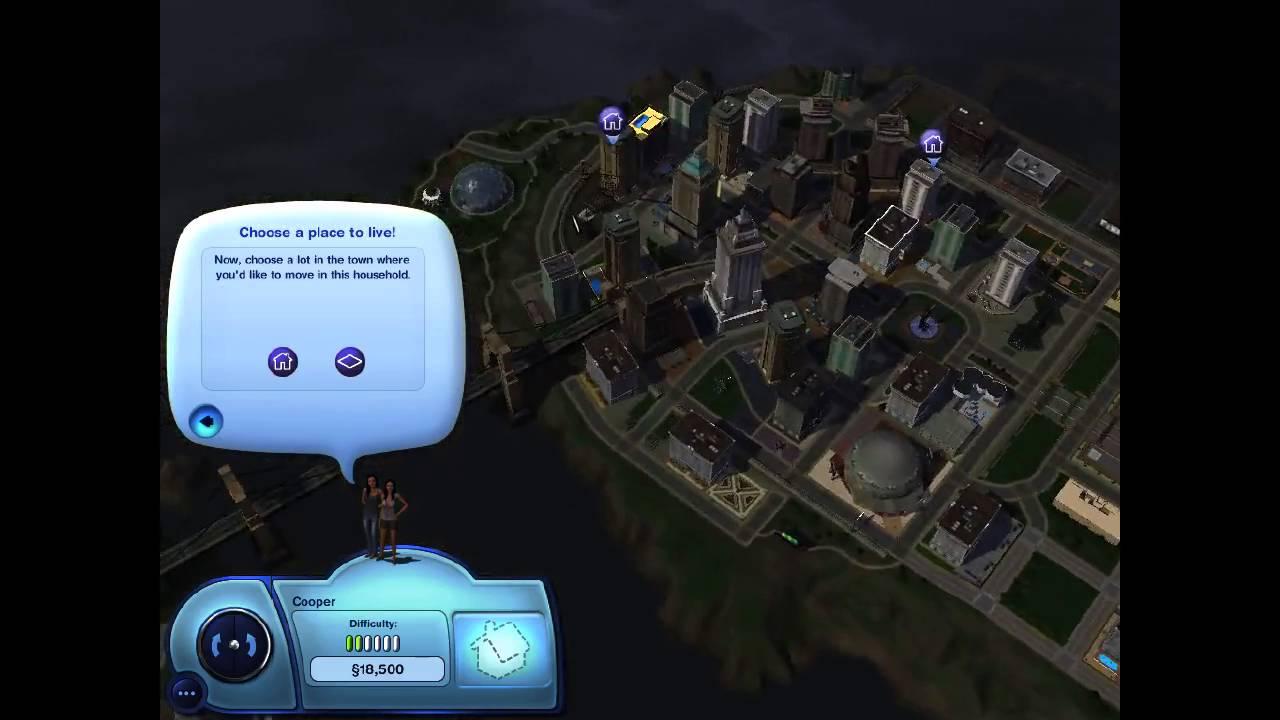 "Sims 3 latenight part 1 ""pilot"""