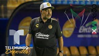 Maradona y Dorados por sorpresa en Copa MX   Liga Mx   Telemundo Deportes
