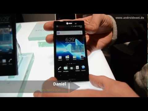 Sony Xperia ION - Hands-On - CES 2012 - androidnext.de