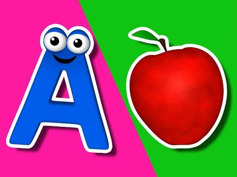 """The Alphabet Song"" | Learn the ABCs for Children, Kindergarten Song, Preschool Teacher, Kids Tune"