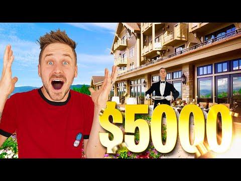 MEGA HOTEL BUDGET CHALLENGE! *High Budget ONLY*