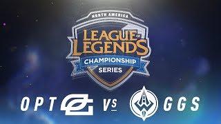 Video OPT vs. GGS - Week 5 Day 1 | NA LCS Spring Split | OpTic Gaming vs. Golden Guardians (2018) download MP3, 3GP, MP4, WEBM, AVI, FLV Juni 2018