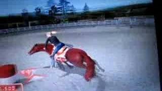 Silver buckle stables- Barrel racing