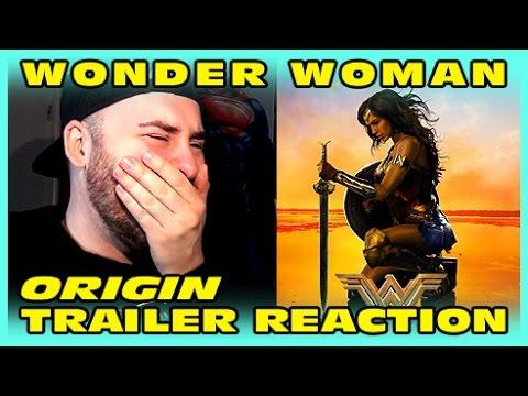 NEW Wonder Woman Trailer (Origin) REACTION