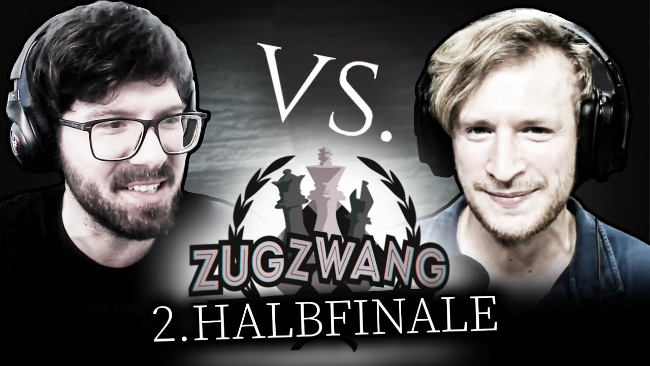 """""""Ich hol' jetzt 5 Damen!""""   @BonjwaMental vs. @Maxim    Zugzwang - Das Schachturnier"""