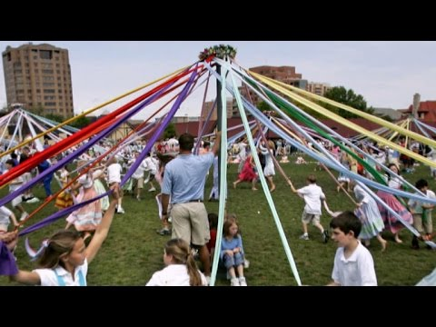 The May Pole tradition