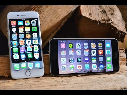 Porovnanie Apple iPhone 6 vs iPhone 6 Plus - YouTube 87a56f2d68b