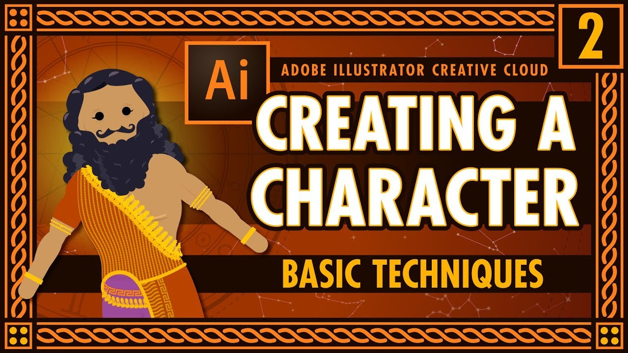 How Crash Course is Made: Character Illustration (Basic Techniques)