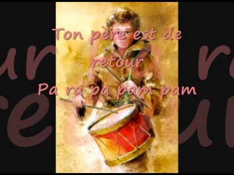 L'enfant au tambour, paroles, lyrics