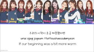 ... - color codes (by ranking) red- somi orange- sejeong green- yoojung blue- chungha turquoise...