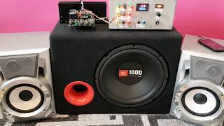 TDA7294 2+1 Subwoofer Bass Test