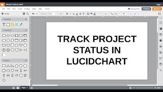 Lucidchart Tutorials - Track Project Status in Lucidchart