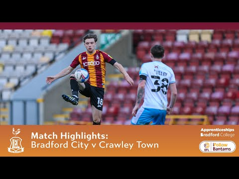 Bradford Crawley Town Goals And Highlights
