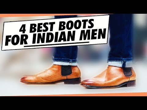 4 BEST BOOTS Every INDIAN Guy NEEDS | Best Men's SHOES Collection for Indian Men | Mayank Bhattchrya