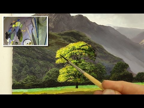 #46 painting a tree tutorial