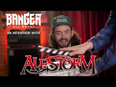 ALESTORM interview on Power Metal, crowd surfing and reverse Spinal Tap'ing themselves episode thumbnail