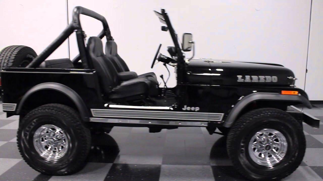 West Coast Auto >> 2275 ATL 1983 Jeep CJ 7 Laredo - YouTube
