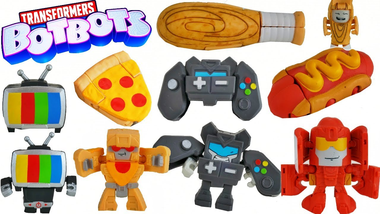 Download Transformers BotBots 8 Packs Energon Hits Everyday Objects Turns them into Robots!