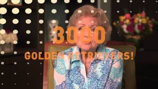 Betty White And The Golden Retriever Lifetime Study