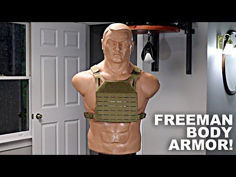 Best Compact Body Armor? Freeman from AR500 Armor
