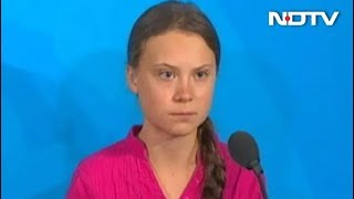 """""""How Dare You?"""": 16-Year-Old Greta Thunberg Thunders At UN Climate Summit"""
