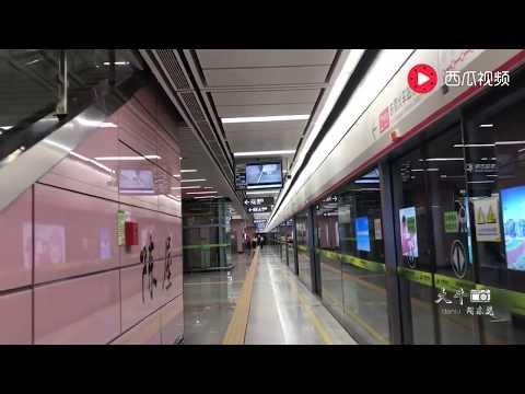 实拍东莞地铁2号线,看看这人流量,广州深圳的小伙伴你们羡慕吗