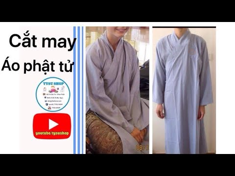 Dạy Cắt May Áo Phật Tử _810_tysushop|sewing diy clothes