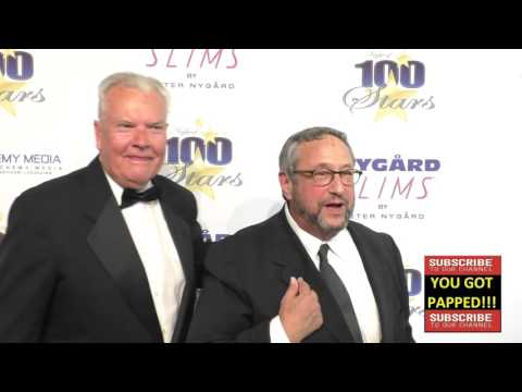 Peter Jason and Stuart Pankin at Norby Walters' 26th Annual Night Of 100 Stars Oscar Viewing at the