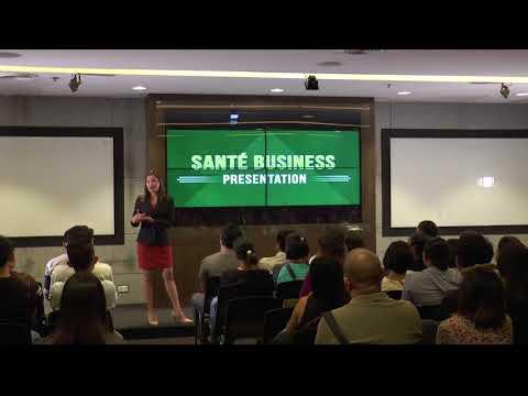 Santé Business Presentation, 30 October 2017