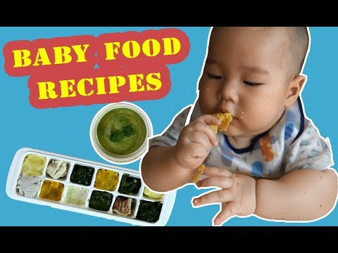 BABY FOOD RECIPES – MEAL PREP FOR THE WHOLE WEEK!