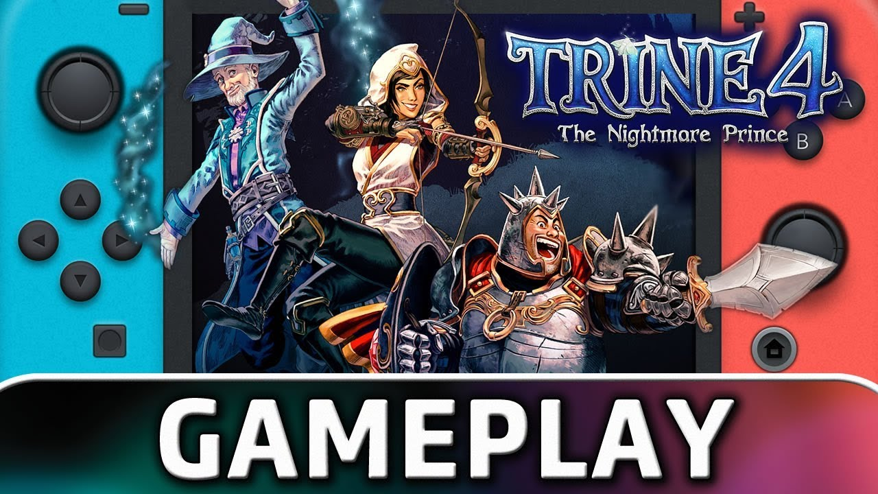 Trine 4: The Nightmare Prince | First 30 Minutes on Nintendo Switch