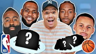 only eating nba basketball players favourite meals for 24 hours steph curry lebron james more