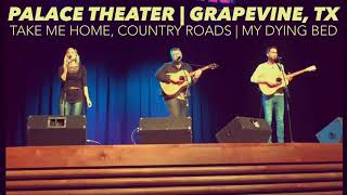 Justin Philip Brooks | Live At Palace Theater (Country Road, Take Me Home | My Dying Bed)