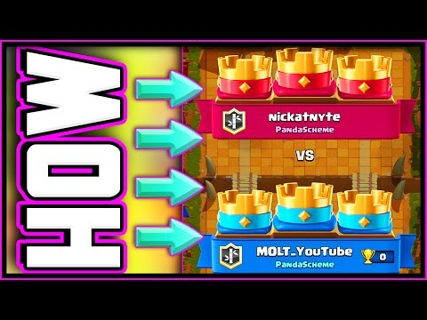 NO WAY! • 3 CROWN DRAW • CRAZY Clash Royale BATTLE!