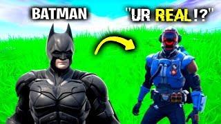 I Pretended To Be Batman In Fortnite