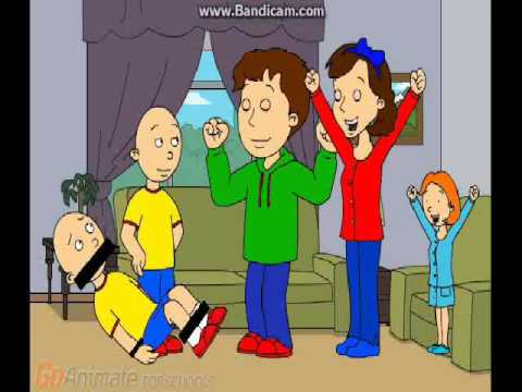 Caillou gets grounded Season 2