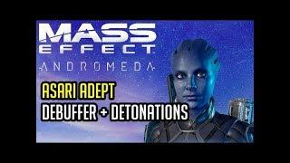 Asari Adept Platinum BUILD and GUIDE Mass Effect Andromeda Multiplayer