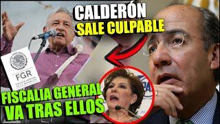 ¡ÚLTIMA HORA! AMLO Manda ALERTA a La Fiscalía Por CRIMENES DE CALDERÓN ¡MIRANDA DE WALLACE AL BOTE!